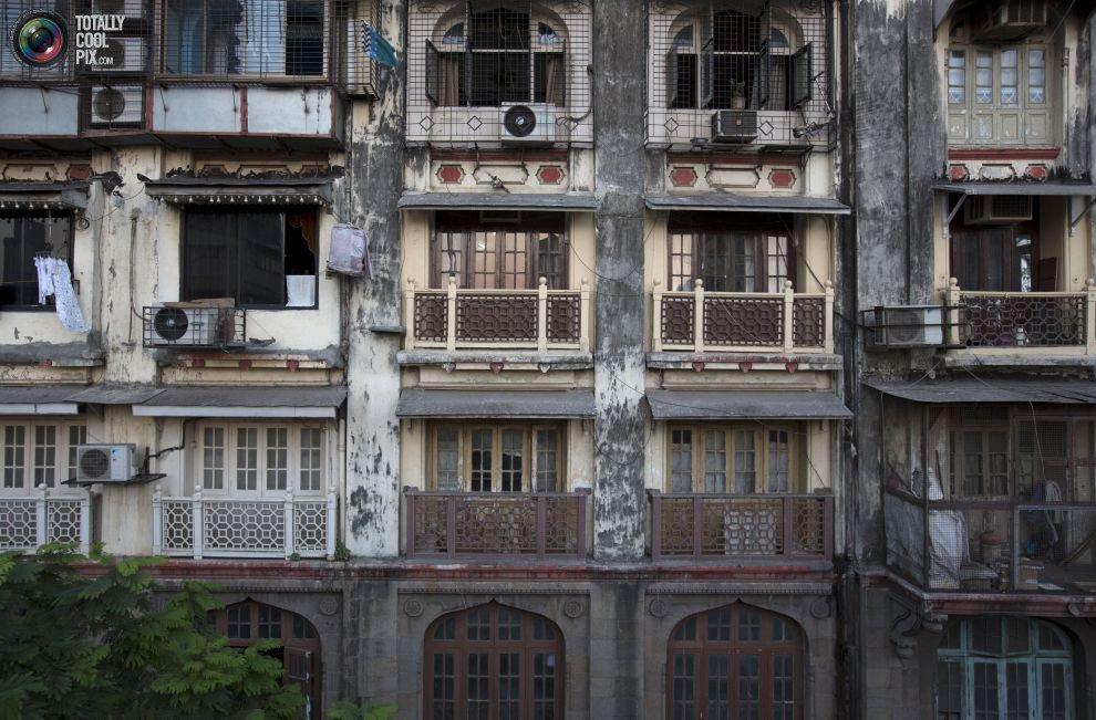 Жилые «муравейники» Мумбая (7)