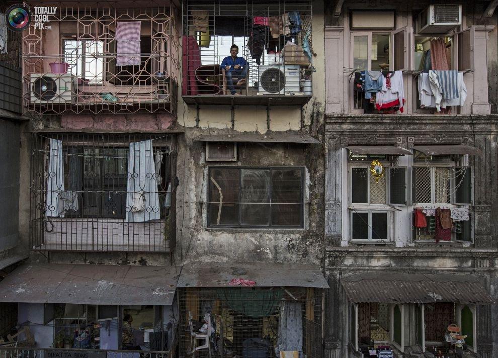 Жилые «муравейники» Мумбая (8)
