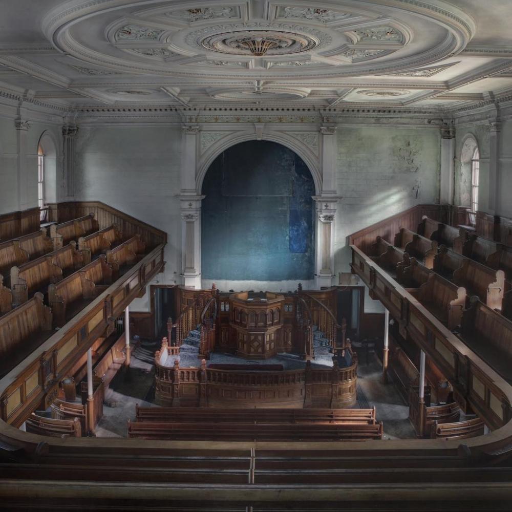 Мистические фото Андре Говиа: заброшенные места в Европе