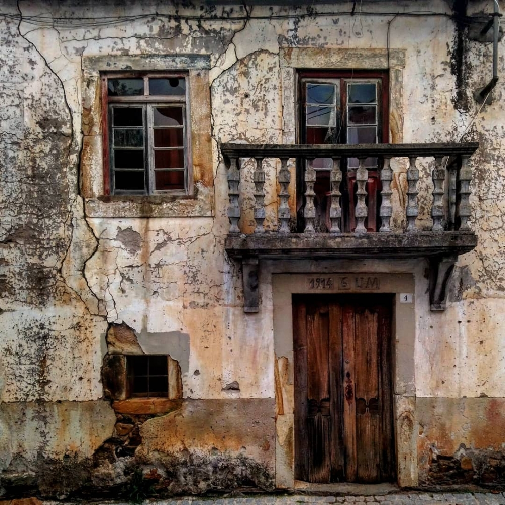 Заброшенные места Португалии на снимках Пауло Карраскейра