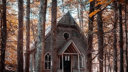 Там, где нет людей: заброшенные дома на фото Рича Керна