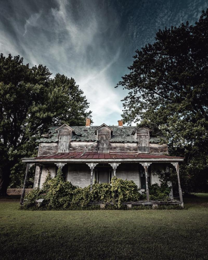 Загадочные заброшенные места на снимках Рича Керна (5)