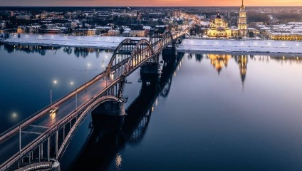 Города и природа на аэрофотоснимках Андрея Пугача