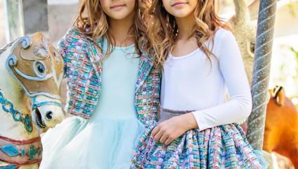 История популярности самых красивых девочек: Ава и Лии в Instagram