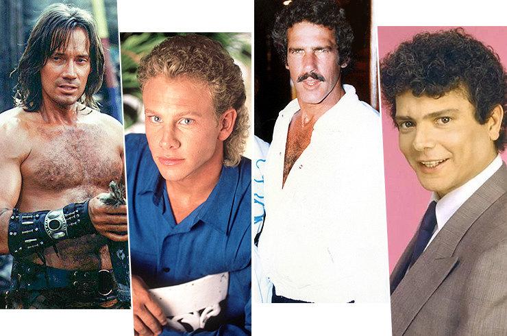Кудряшки, усики и челки: как выглядели нелепые секс-символы из сериалов 90-х