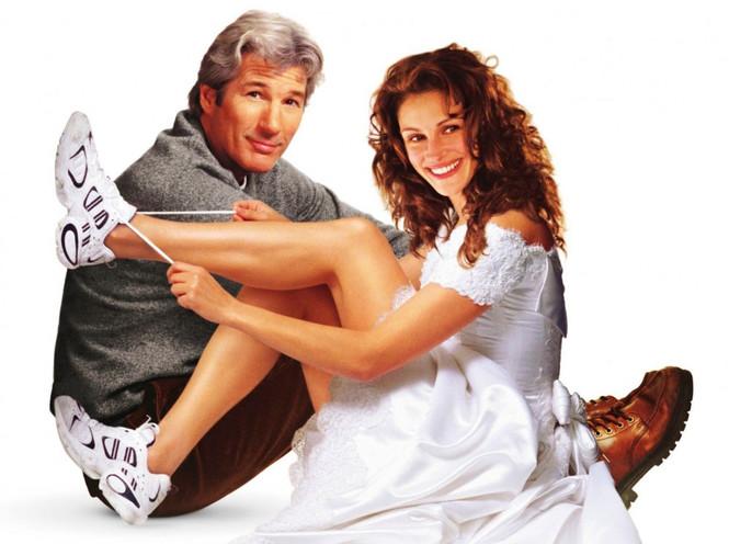 Постер к фильму «Сбежавшая невеста» (1999) с Ричардом Гиром и Джулией Робертс