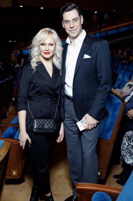 Дмитрий Дюжев с женой Татьяной Зайцевой