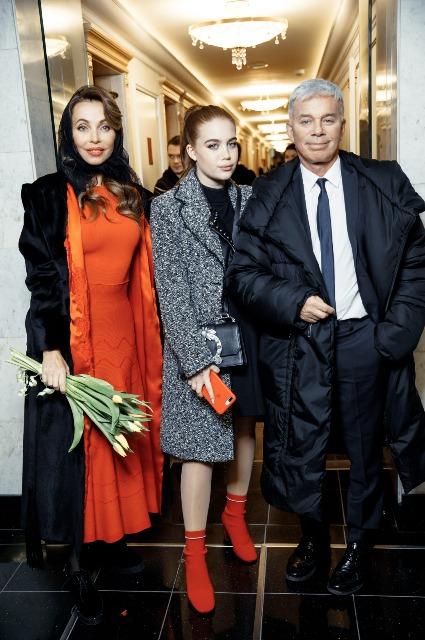 Олег Газманов с женой и дочерью