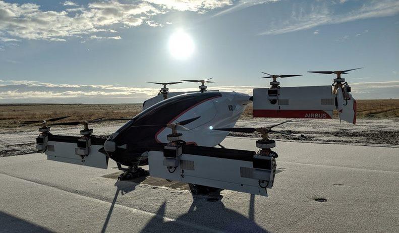 Новая эра вертолетов: видео испытаний Vahana