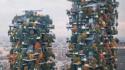 Дом-сад: новые европейские высотки