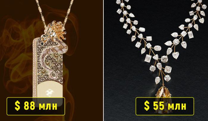 10 безумно дорогих ювелирных украшений, за которые сегодня гоняются богачи