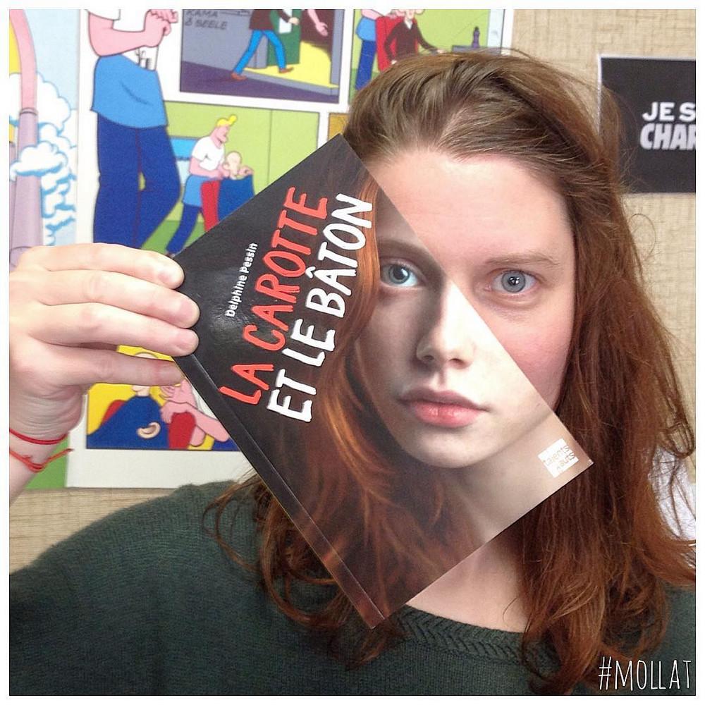 Book_Face_kreativnye_snimki_s_oblozhkami_knig 1
