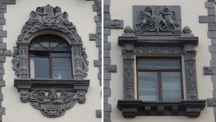 Дом с башнями в Питере_ Здание в стиле английских замков_ которое выдержит даже взрыв фугасной бомбы (1)