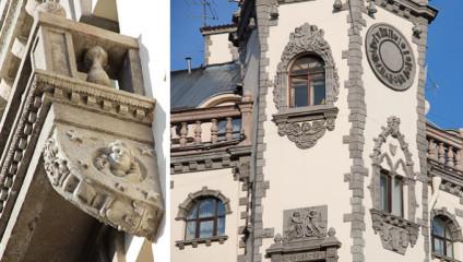 Дух Европы в Санкт-Петербурге: фото и история дома с башнями