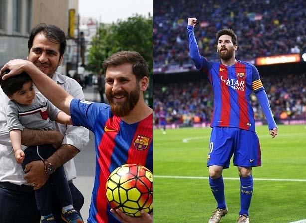 Иранский двойник футболиста Лионеля Месси задержан за нарушение общественного порядка (7 фото) (1)