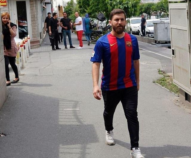 Иранский двойник футболиста Лионеля Месси задержан за нарушение общественного порядка (7 фото) (2)