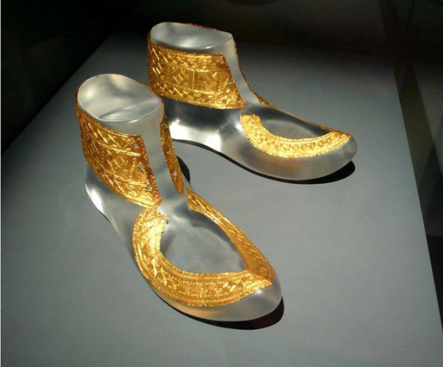Кельтский вождь и его шикарные золотые ботинки