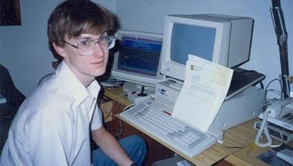 Компьютерные гении на снимках 1980-х годов