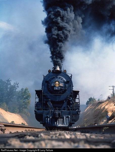 Красивые фотографии поездов. (1)