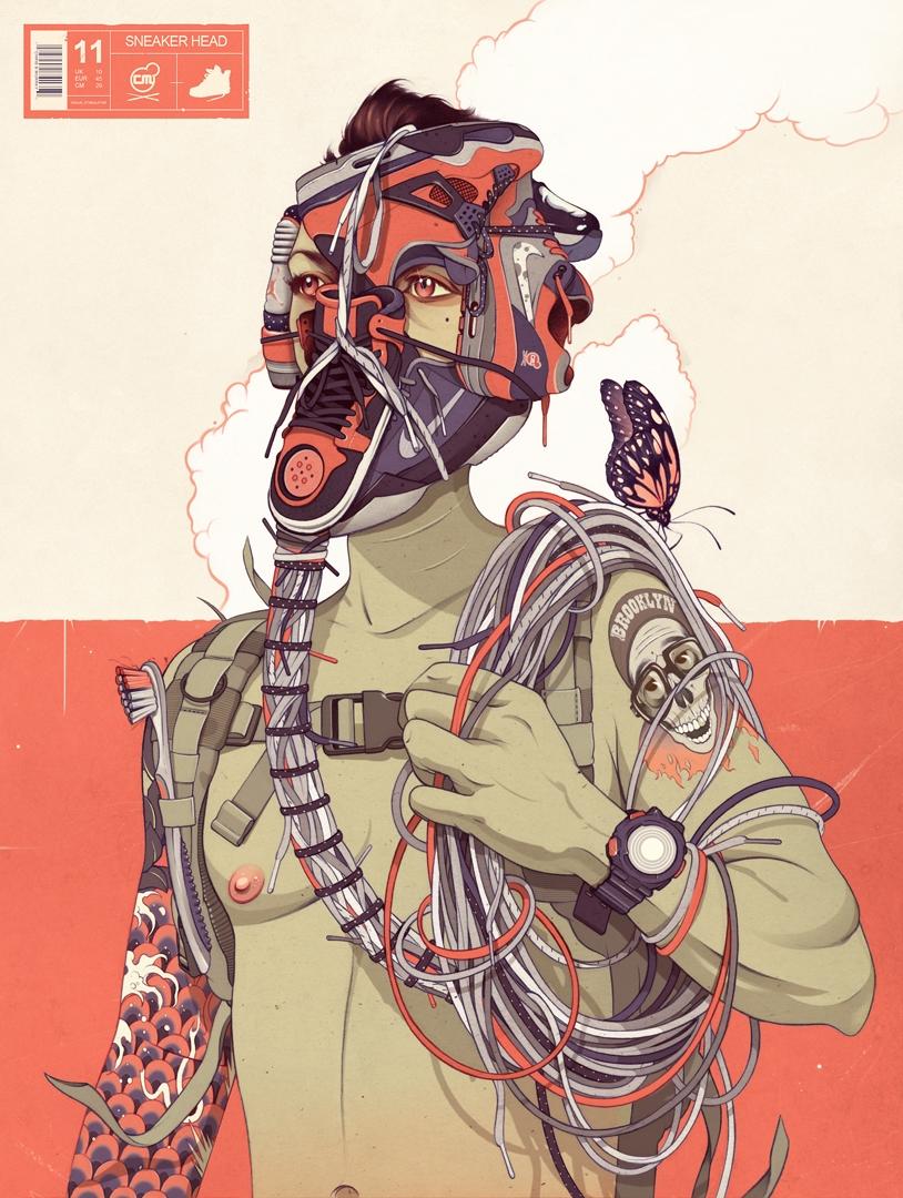 Между комиксами и граффити_ эклектичный талант Криса Б. Мюррея (1)