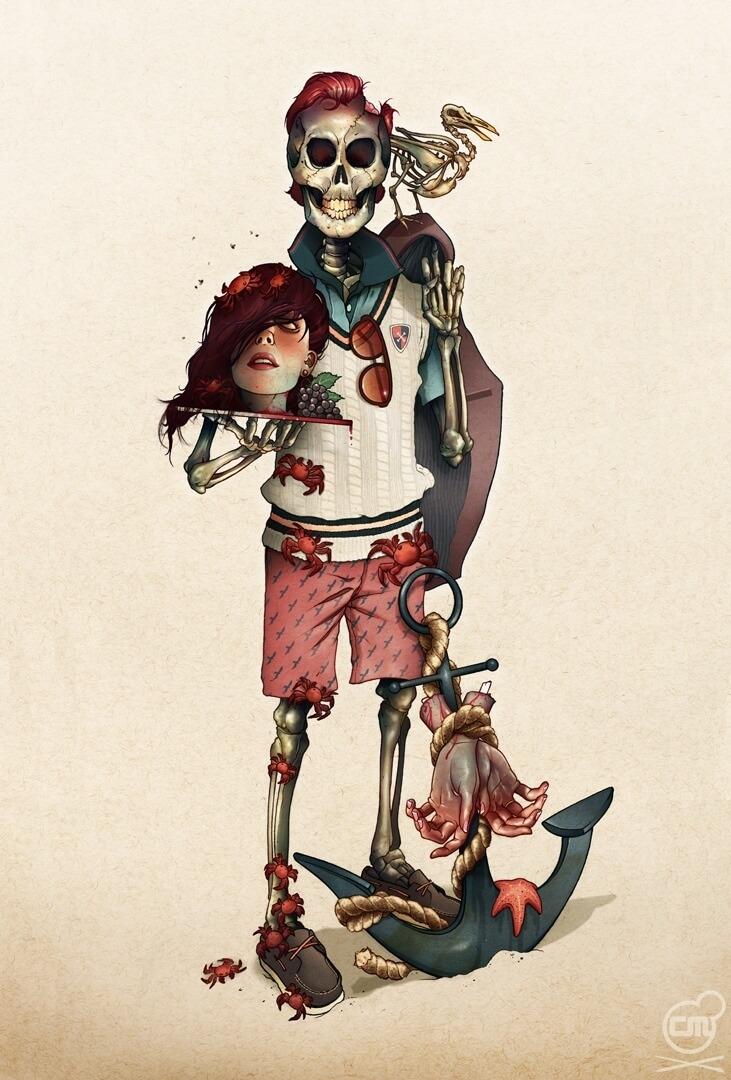 Между комиксами и граффити_ эклектичный талант Криса Б. Мюррея (13)