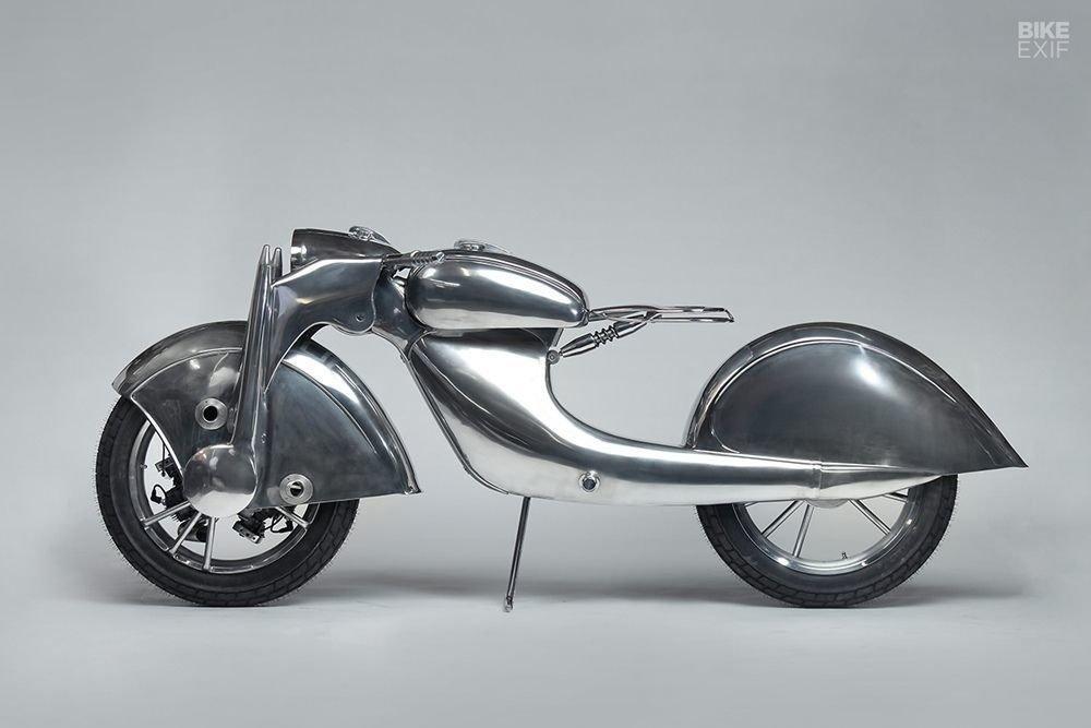 Невероятно красивый мотоцикл_ реплика немецкого Killinger und Freund в стиле арт_деко (1)