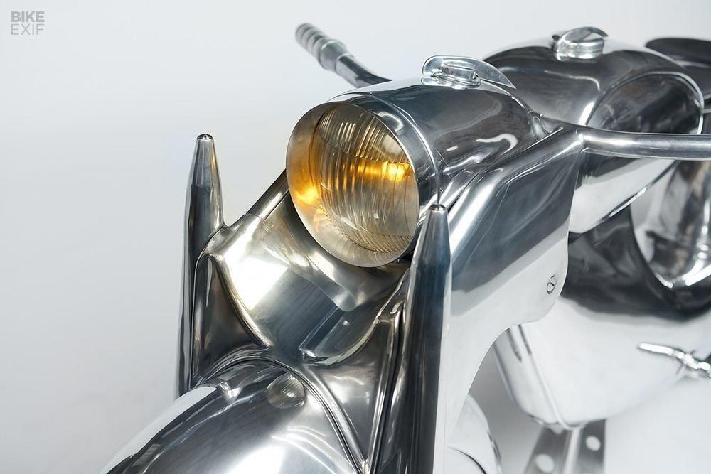 Невероятно красивый мотоцикл_ реплика немецкого Killinger und Freund в стиле арт_деко (2)