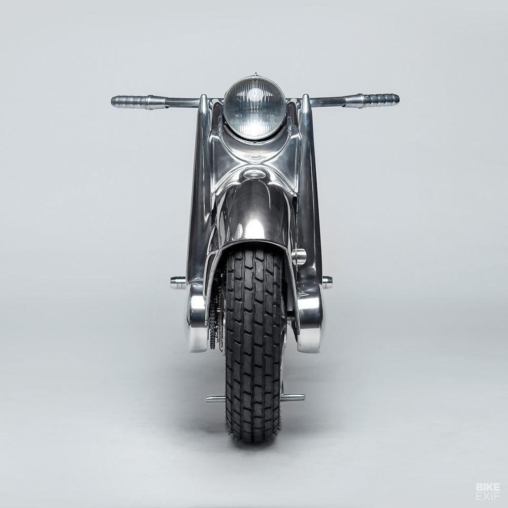 Невероятно красивый мотоцикл_ реплика немецкого Killinger und Freund в стиле арт_деко (4)