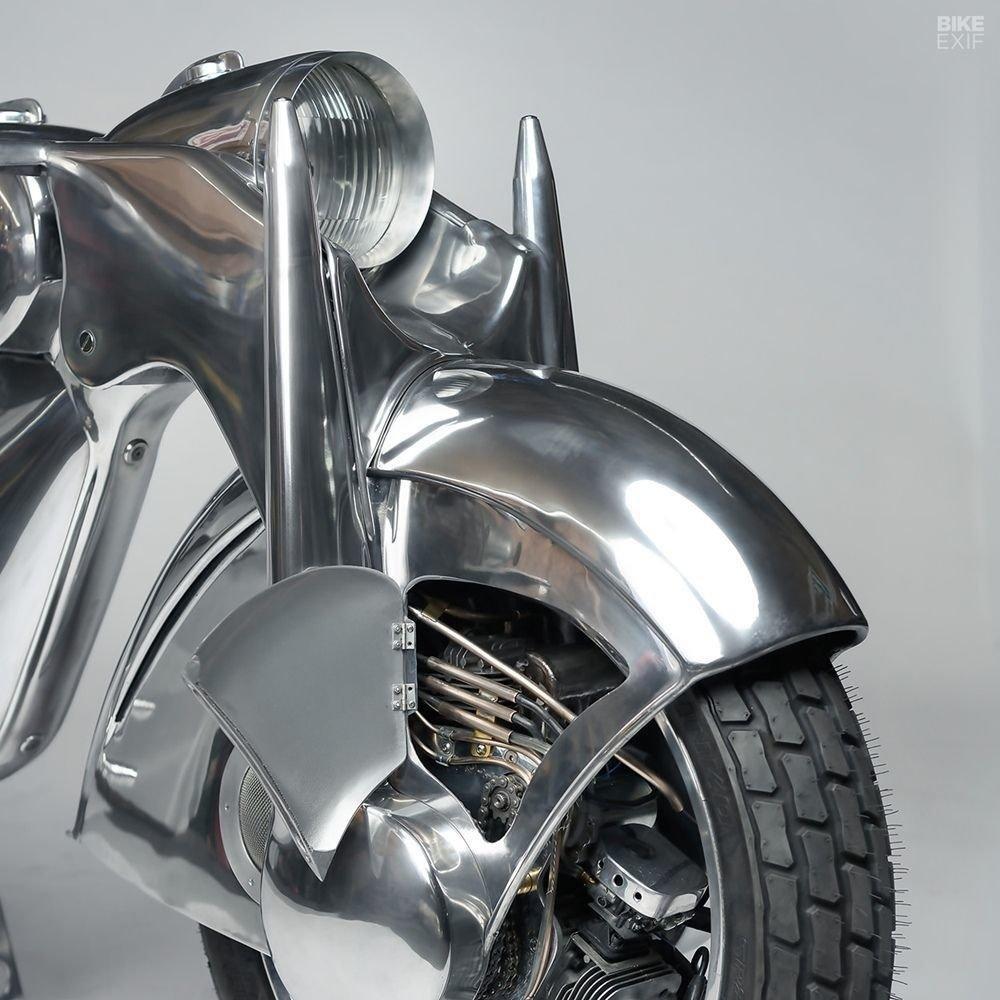 Невероятно красивый мотоцикл_ реплика немецкого Killinger und Freund в стиле арт_деко (5)