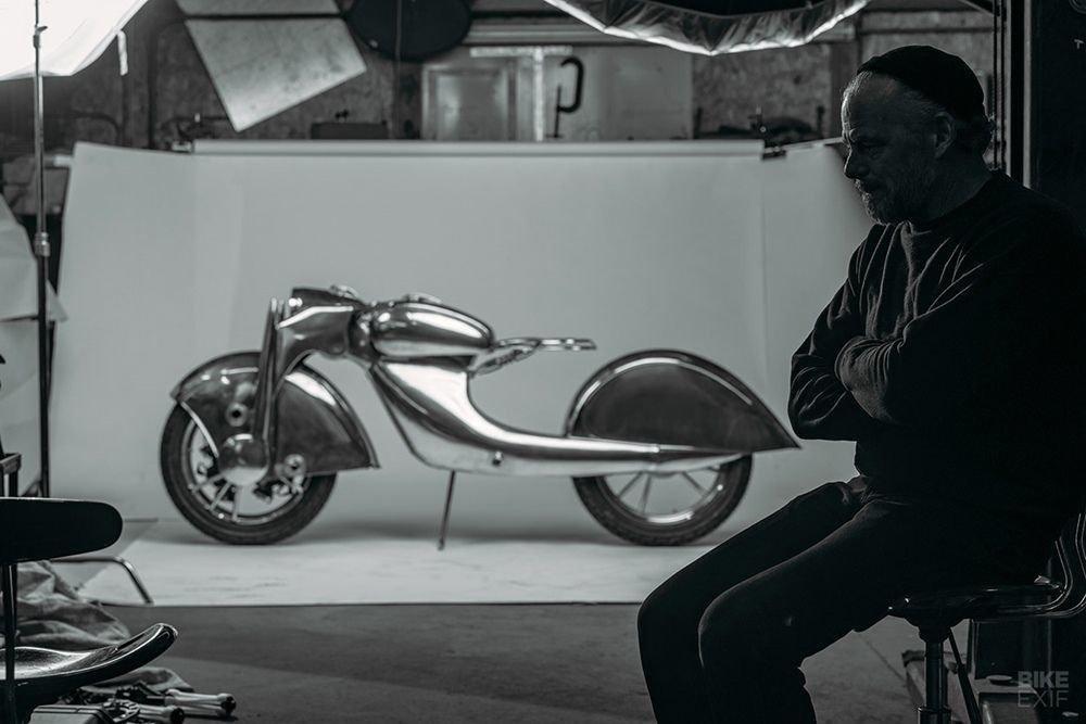 Невероятно красивый мотоцикл_ реплика немецкого Killinger und Freund в стиле арт_деко (7)