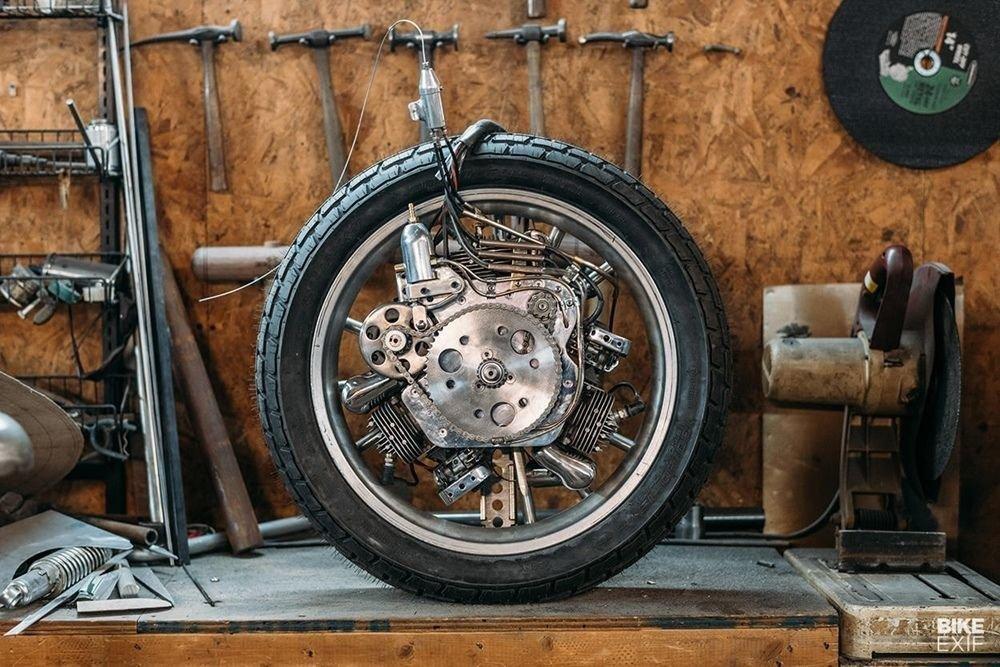 Невероятно красивый мотоцикл_ реплика немецкого Killinger und Freund в стиле арт_деко (8)