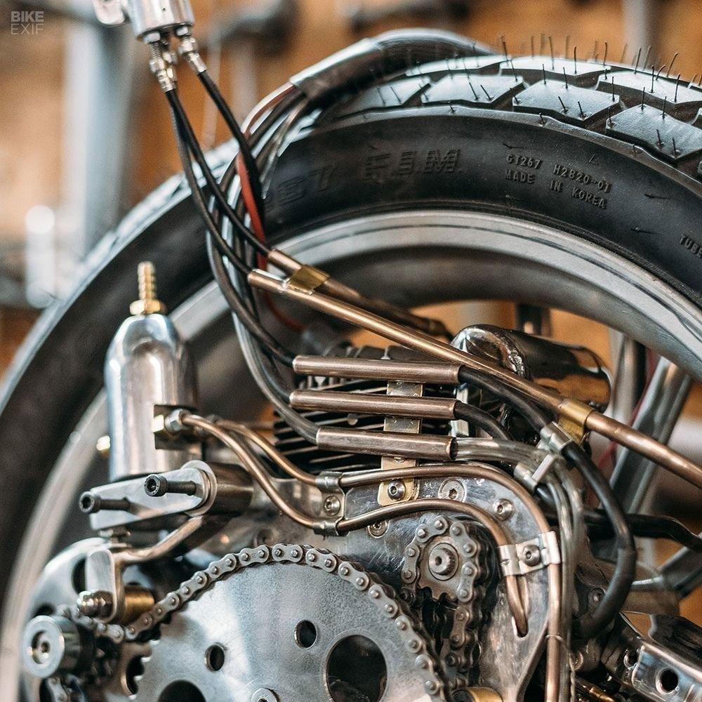 Невероятно красивый мотоцикл_ реплика немецкого Killinger und Freund в стиле арт_деко (9)