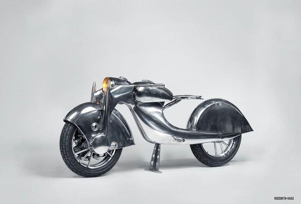 Невероятно красивый мотоцикл_ реплика немецкого Killinger und Freund в стиле арт_деко