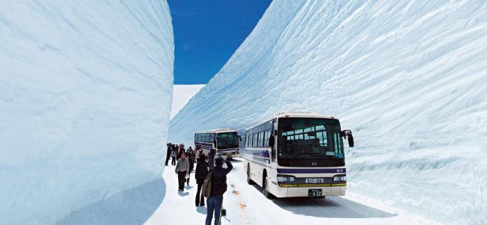 Прогулка по Tateyama Kurobe Alpine (13 фото) (10)