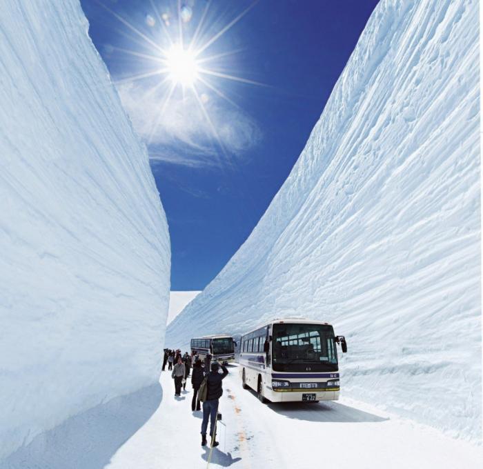 Прогулка по Tateyama Kurobe Alpine (13 фото) (11)