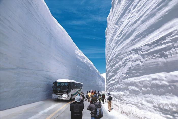Прогулка по Tateyama Kurobe Alpine (13 фото) (3)