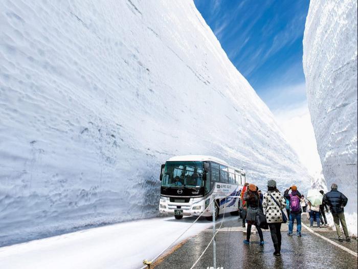 Прогулка по Tateyama Kurobe Alpine (13 фото) (6)
