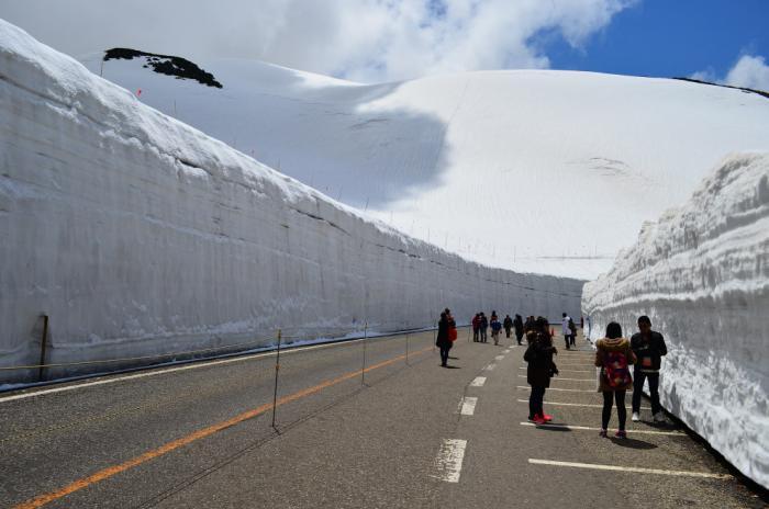 Прогулка по Tateyama Kurobe Alpine (13 фото) (7)