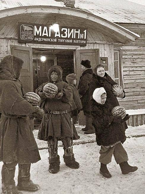 Завоз арбузов, Ненецкий автономный округ.