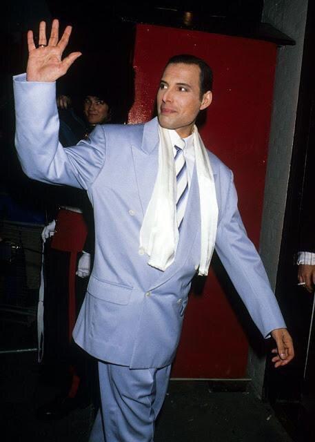 Фредди Меркьюри, 1991 год.