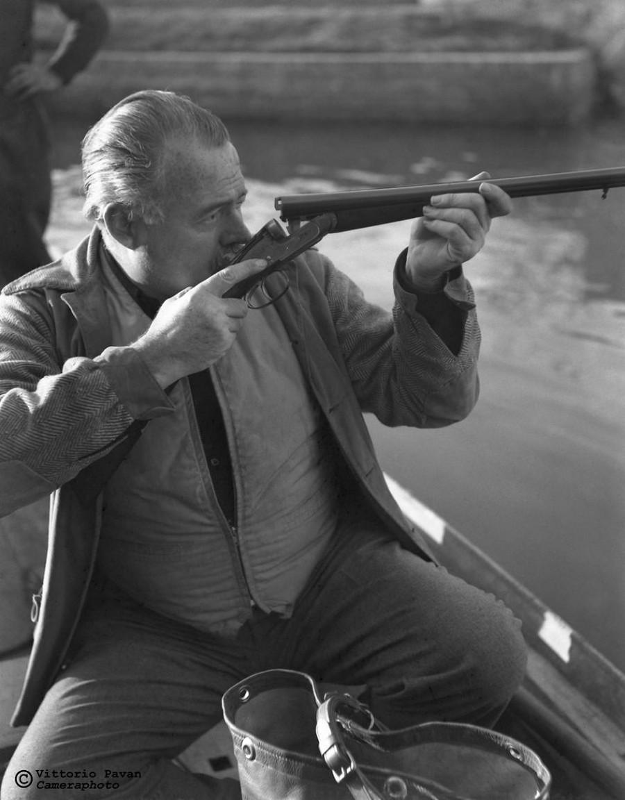 Редкие фотографии известных людей_ отдыхающих в Венеции в 1950_60_е годы 26