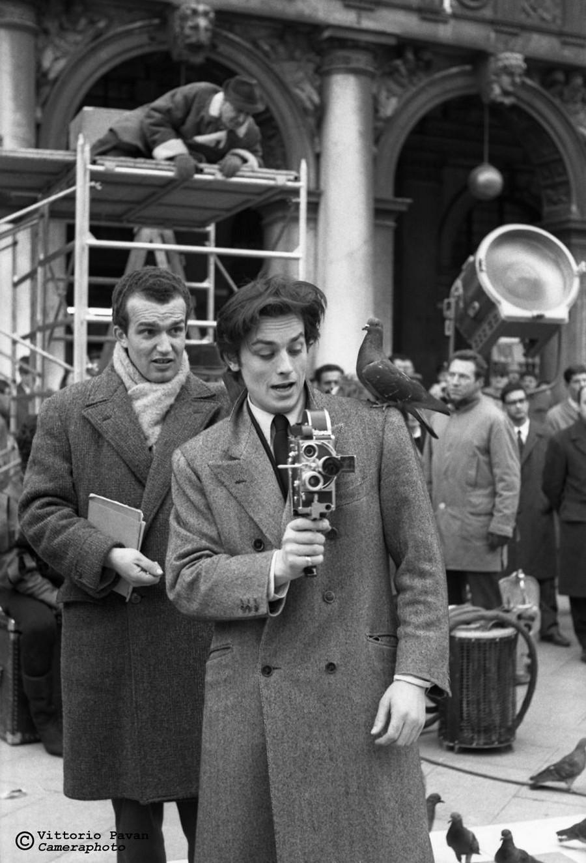Редкие фотографии известных людей_ отдыхающих в Венеции в 1950_60_е годы 8