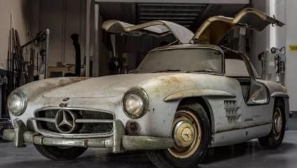 Mercedes-Benz 300SL Gullwing середины 50-х по заоблачной цене