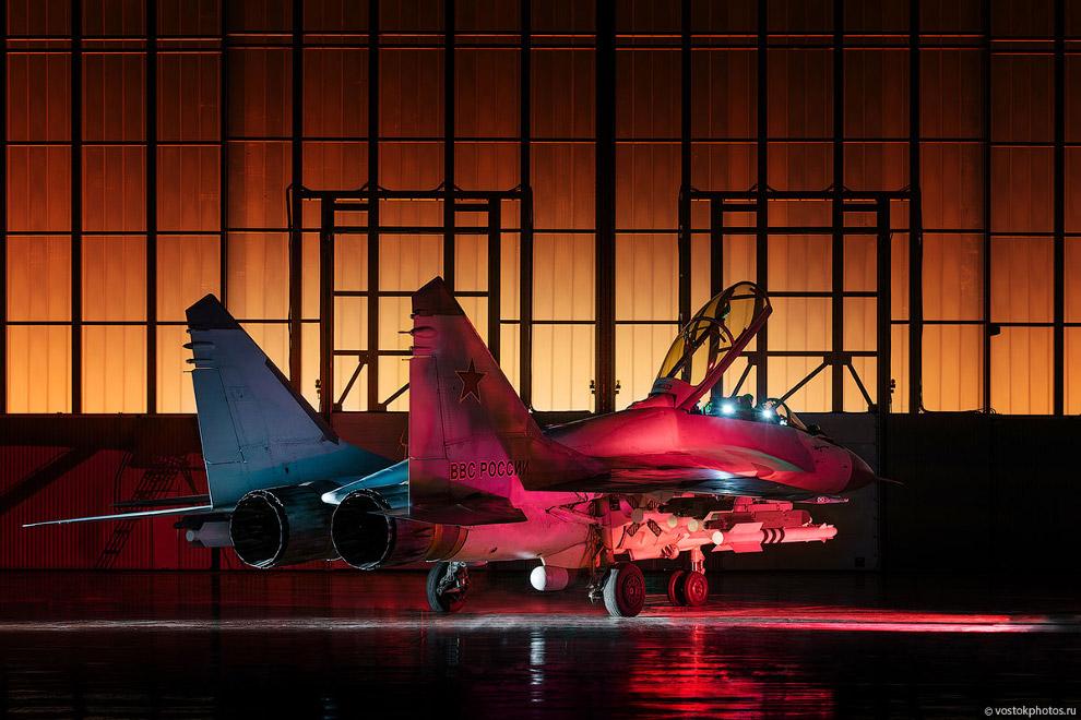 Съёмка истребителя МиГ_35 (10)