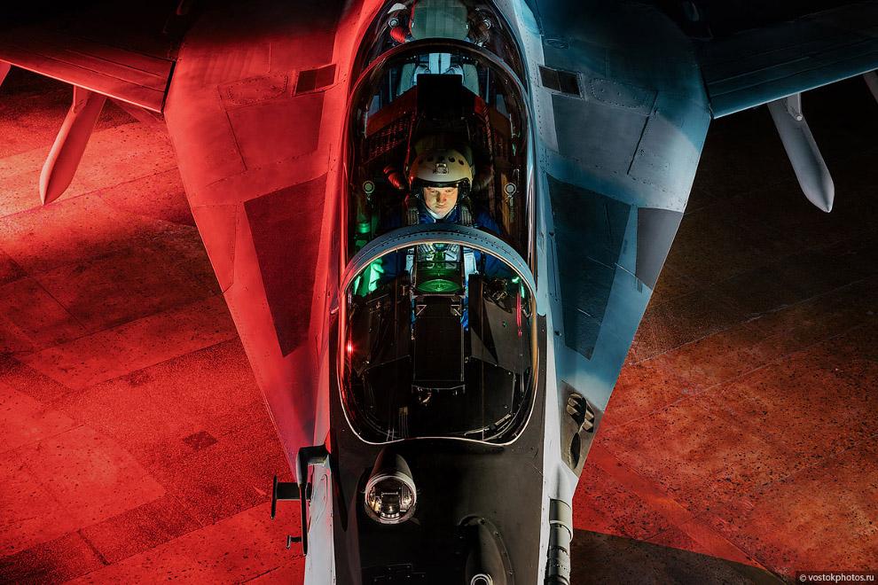 Съёмка истребителя МиГ_35 (11)