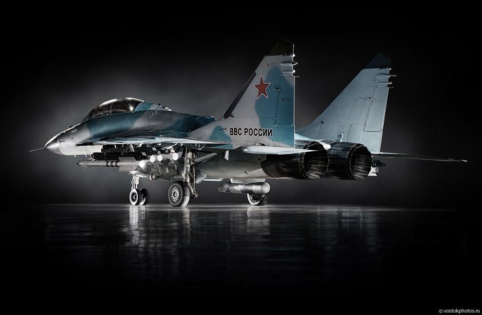 Съёмка истребителя МиГ_35 (13)