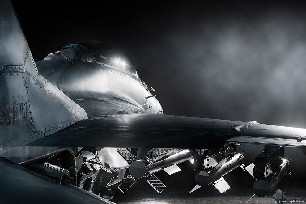 Съёмка истребителя МиГ_35 (15)