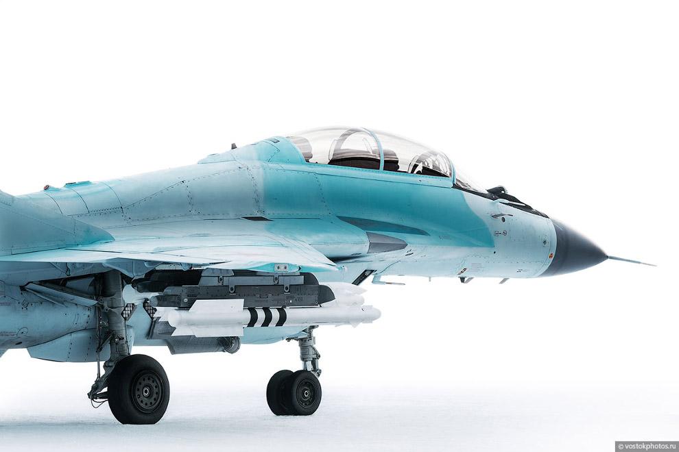 Съёмка истребителя МиГ_35 (5)