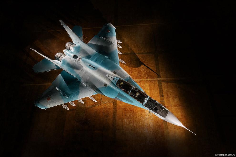 Съёмка истребителя МиГ_35 (6)
