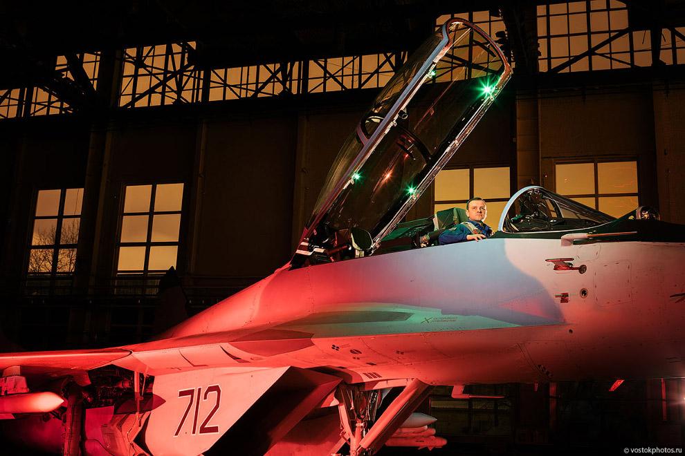 Съёмка истребителя МиГ_35 (9)